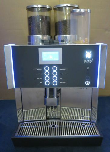 WMF Bistro Bean To Cup 2 Hopper Commercial Coffee Espresso Cappuccino Machine